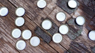 Bottle Caps Background