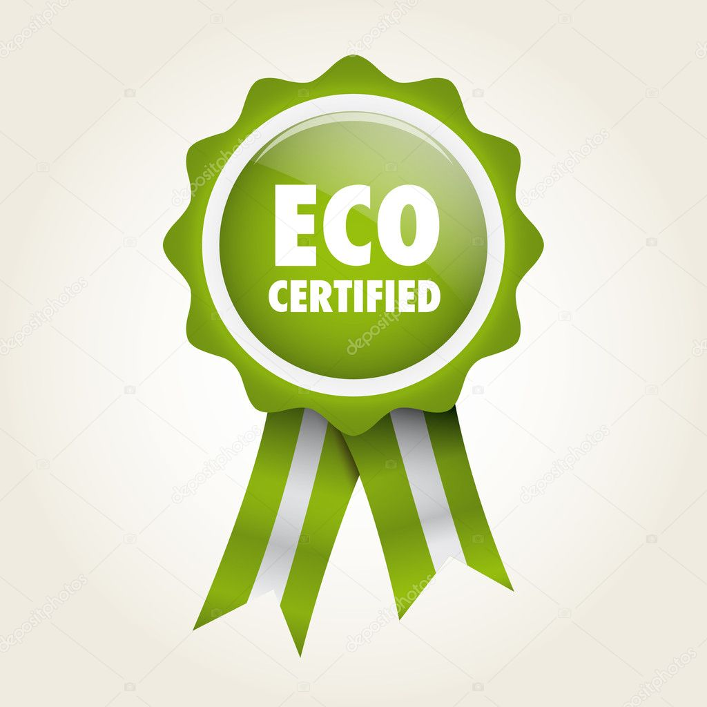 Label eco certified