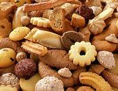 Fotografia croccanti biscotti freschi