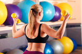 Fotografie fitness-trainer