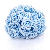 Fotografia artificiali bouquet di rose blu