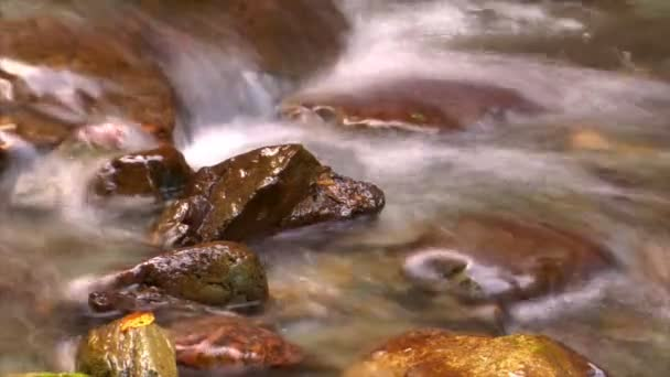 Time lapse water flow close