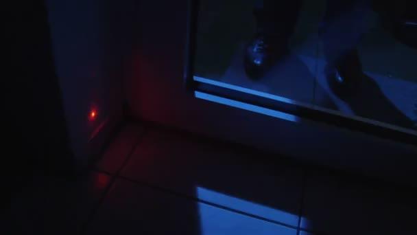 lupič otevřené laserové uložené dveře 10842