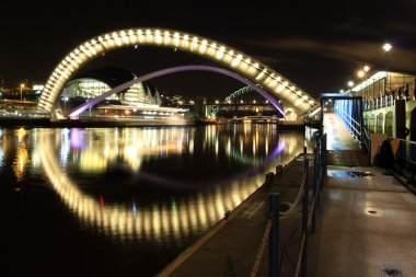 Millenium bridge, newcastle quayside