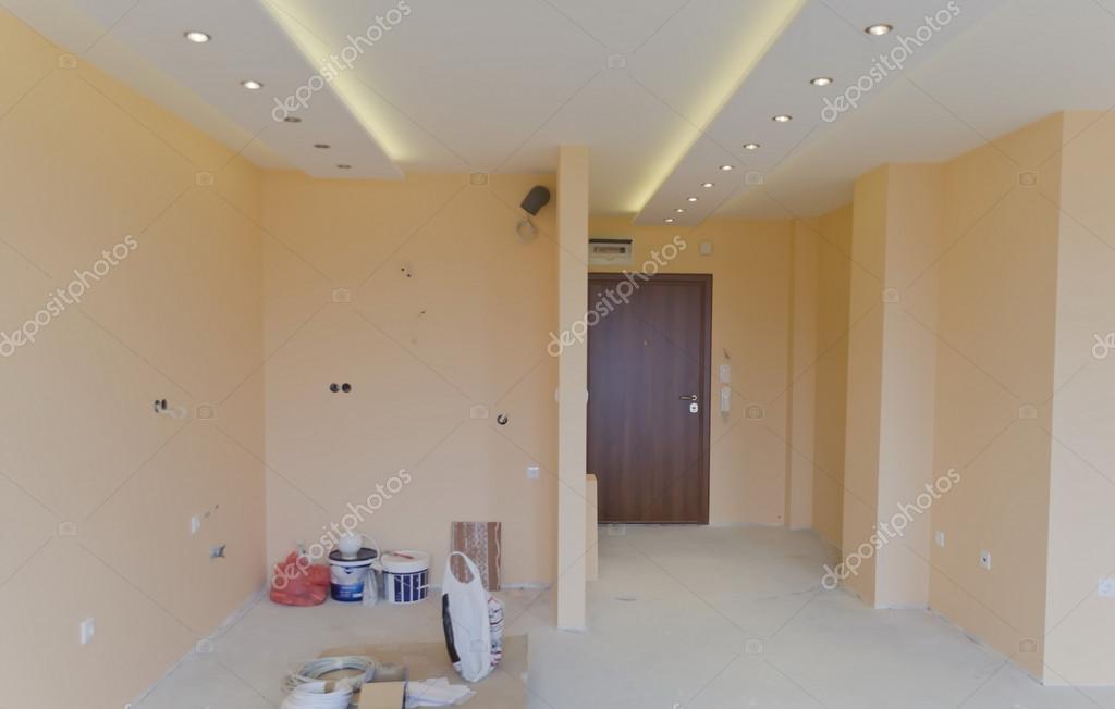 Zimmer Mit Moderner Led Beleuchtung Stockfoto C Vili4545 34166983