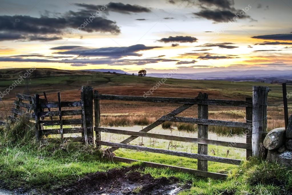 Gate to a beautiful landscape