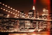Fotografia skyline di New york