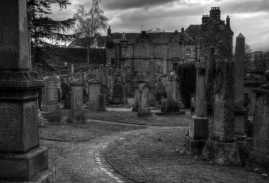 Old Spooky Graveyard