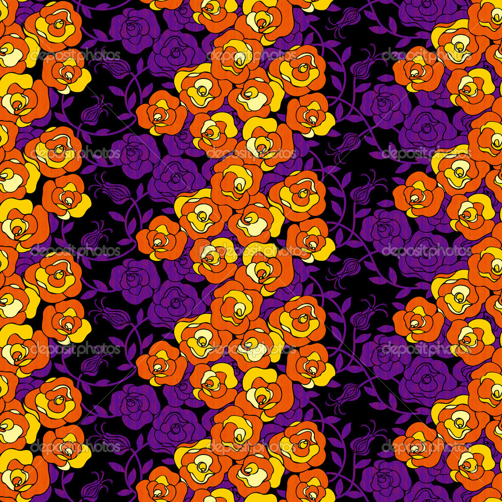 Verwenden Sie es lebendige wiederholte floral - für einfache ...