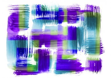 Abstract watercolor art hand paint