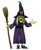 Vén boszorkány seprű