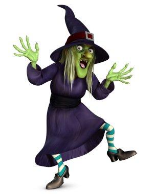 crazy witch