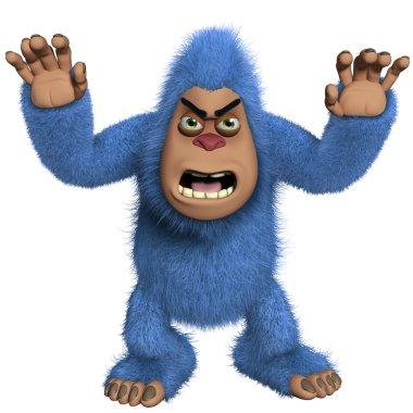 horror blue yeti