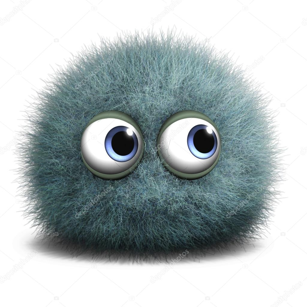 Cartoon Bacteria