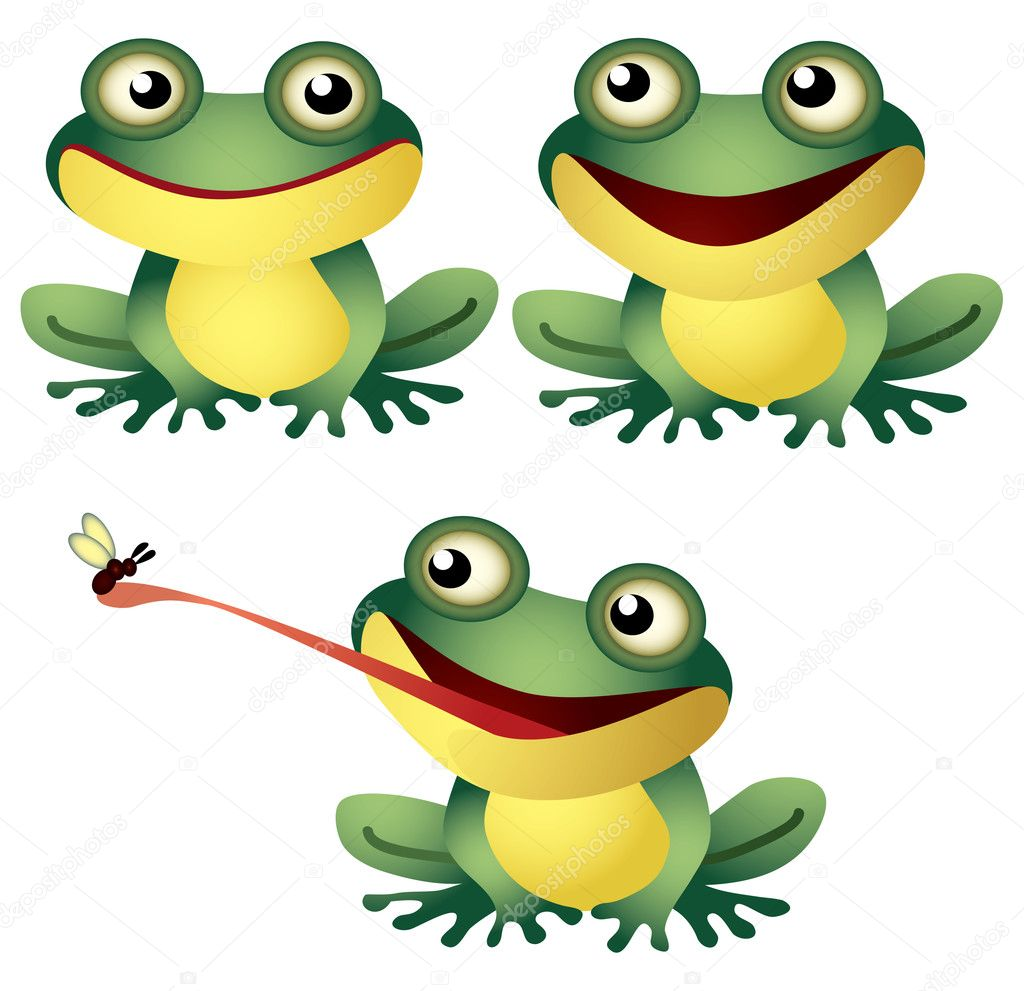 Uncategorized Frog Cartoon cartoon frog stock vector bertoszig 13304634 funny by bertoszig