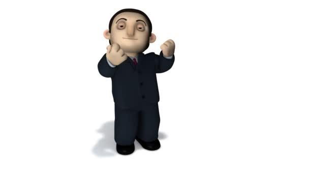 Geschäftsmann-Präsentation
