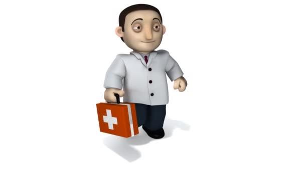 Arzt mit Aktentasche