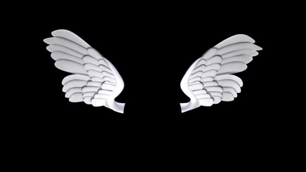 Cupid wings animation