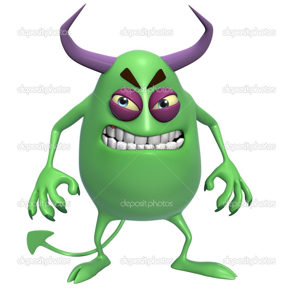 3d monstre horreur de dessin anim photo 23909293 - Dessin horreur ...