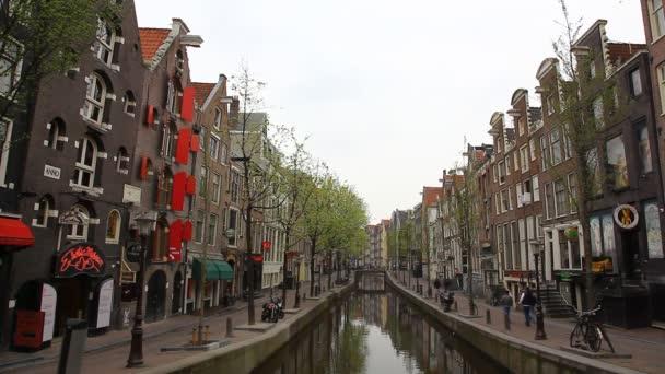 Amsterdam červených luceren, erotické muzeum, Holandsko