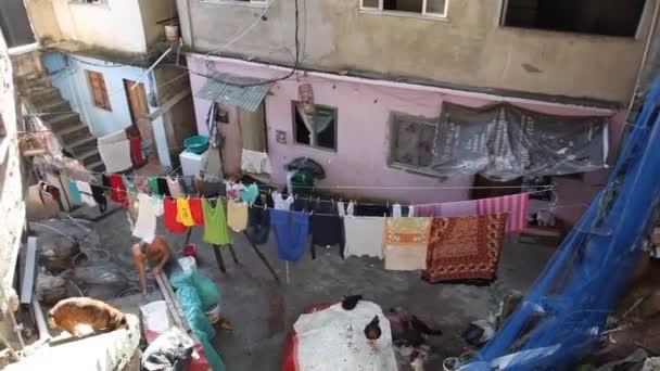Alltag in Favela Rocinha, Rio De Janeiro, Brasilien