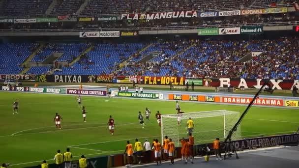 Football game Flamengo vs Botafogo in Rio de Janeiro Brazil