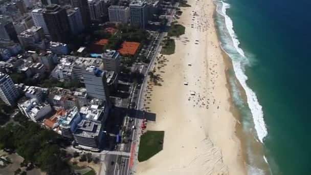 Ipanema buk letecké rio de janeiro Brazílie vrtulník letu
