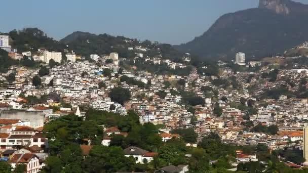 Favela letecké rio de janeiro Brazílie vrtulník letu