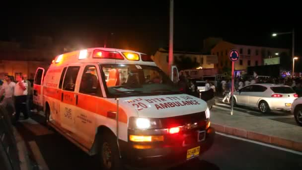 Sanitka evakuace zraněných osob