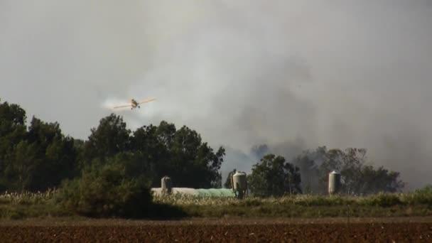 Vad tűz elleni Airtankers spray