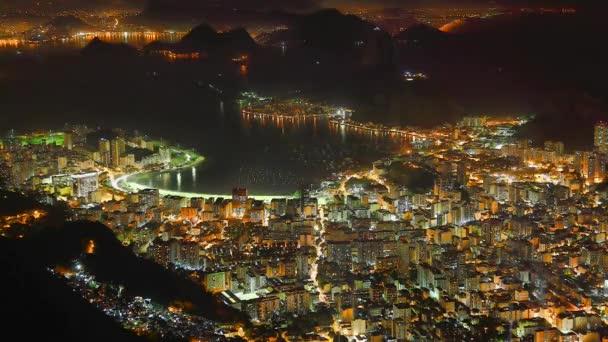 Rio de janeiro v noci časová prodleva