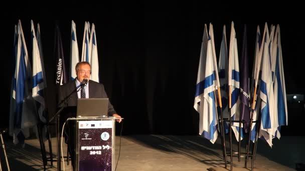 Izrael miniszter, a tudomány és a technológia Prof Daniel Herschkowitz
