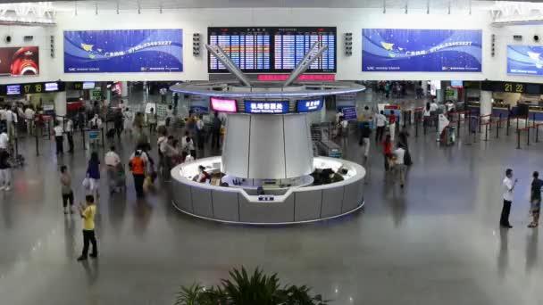 Shenzhen airport, China, time lapse