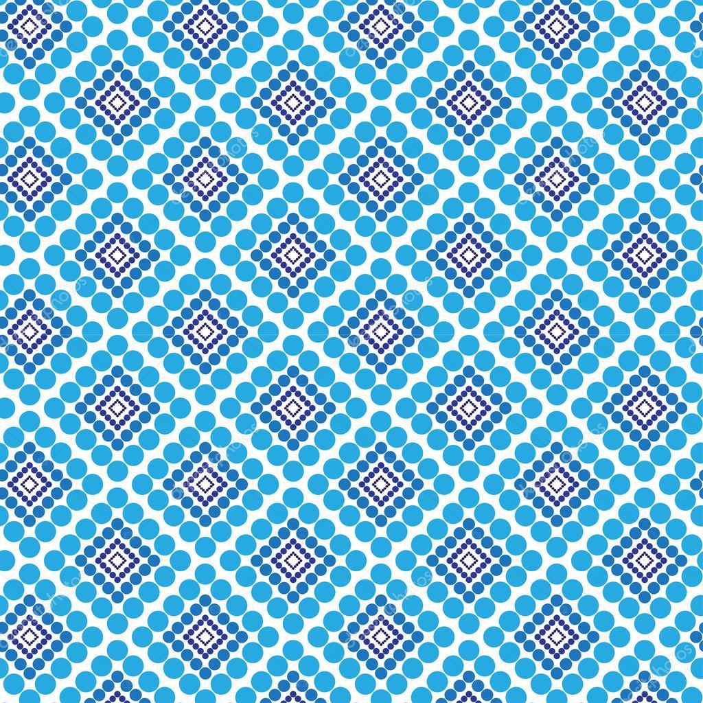 Moderne fliesen textur  Punkte und Quadrate nahtlose Muster, moderne und stilvolle Textur ...