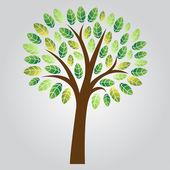 Stylizované vektorové strom