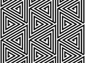 Fényképek háromszögek, fekete-fehér absztrakt zökkenőmentes geometrikus minta