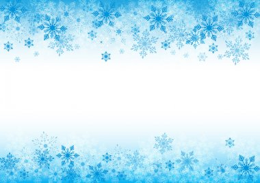 Winter background for design with copy space stock vector