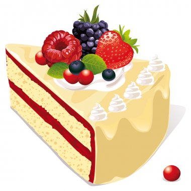White vanilla cake