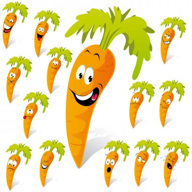 Carrot cartoon
