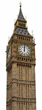 Big Ben Panorama (HighRes) - Palace of Westminster, London stock vector