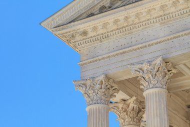 Roman Temple in Nimes, Provence, France