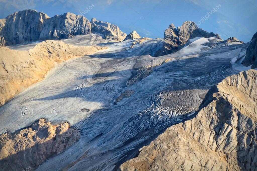Luftaufnahme Dachstein Gletscher Salzkammergut Oberosterreich