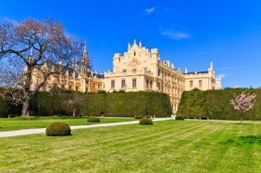 Lednice palace and gardens, Unesco World Heritage Site, Czech Re