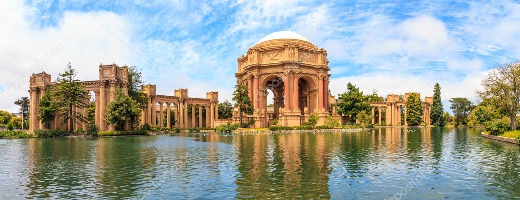 San Francisco Panorama Exploratorium And Palace Of Fine Art Ca