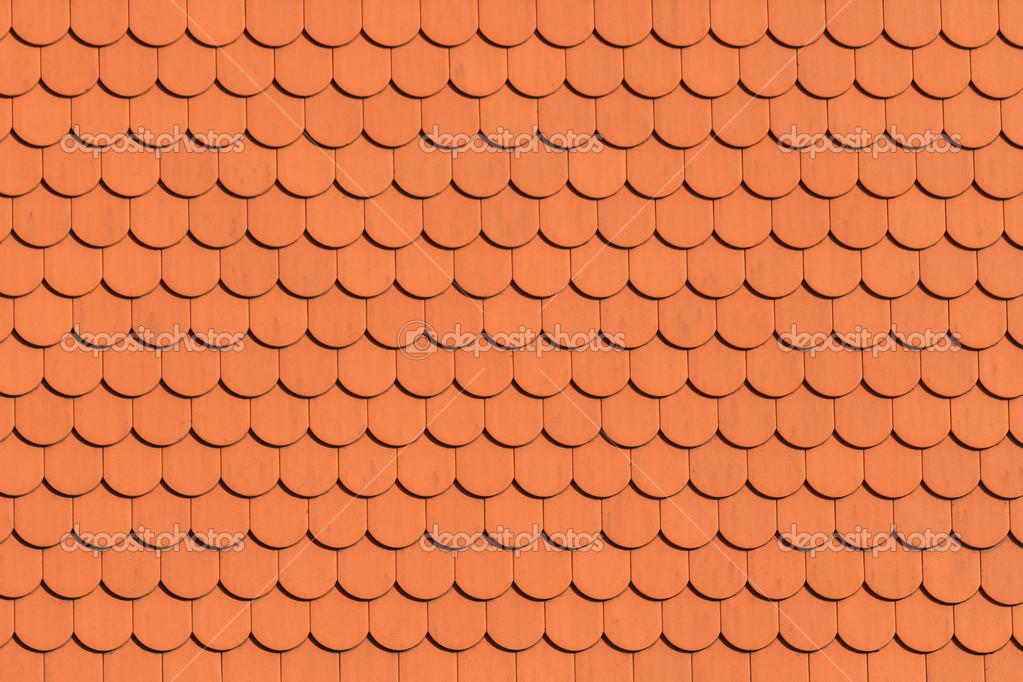 Patr n de techo rojo teja fotos de stock bertl123 for Roof tile patterns