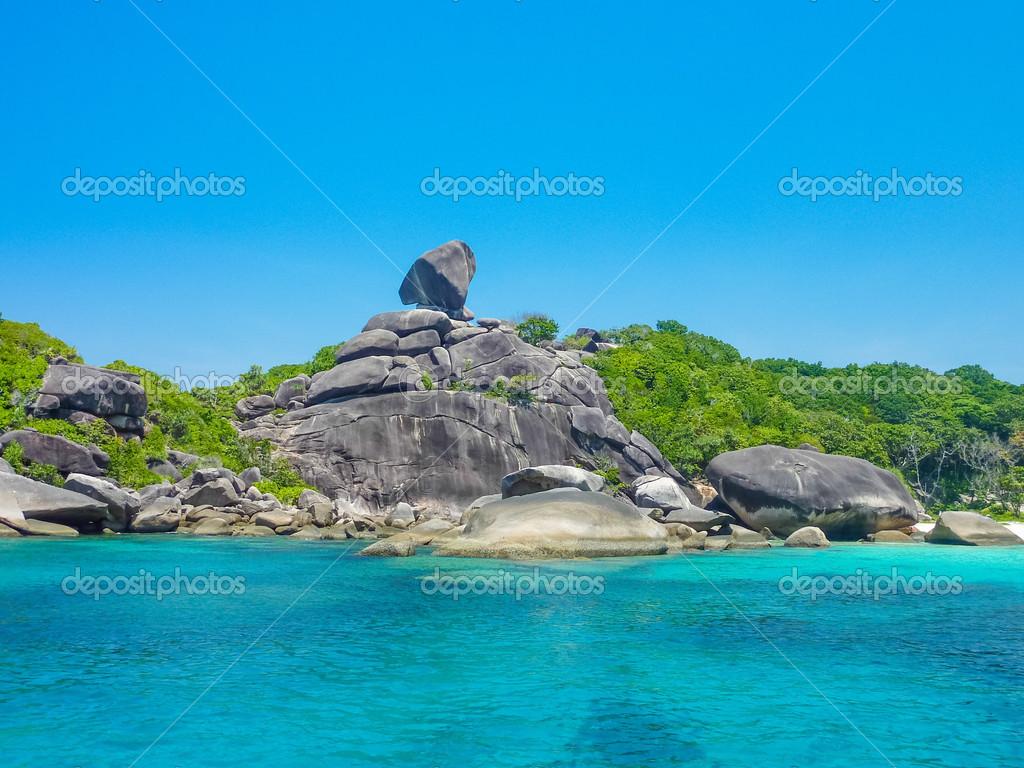 Similan Island, Koh Eight, Thailand