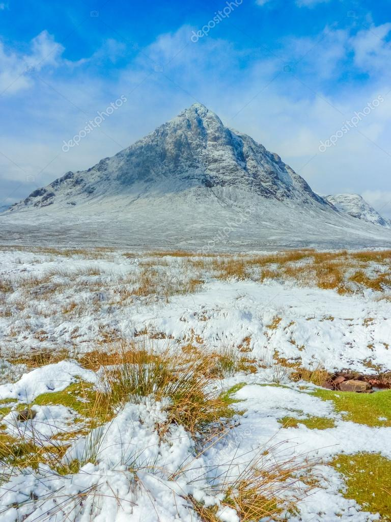 Scottish Highlands Scenic at Buachaille Etive Mor, Glencoe, Scot