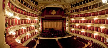 La scala - panorama shot