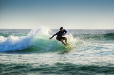 The surfer