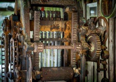 Sawmill with lumbers